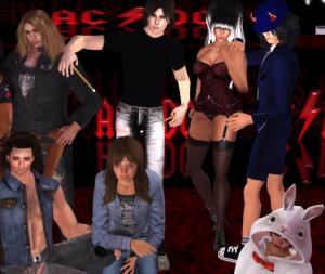 Bad Ampitude SL Cover Band Group Photo