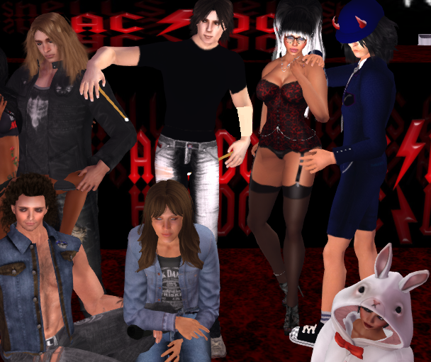 Bad Ampitude ACDC Group Photo