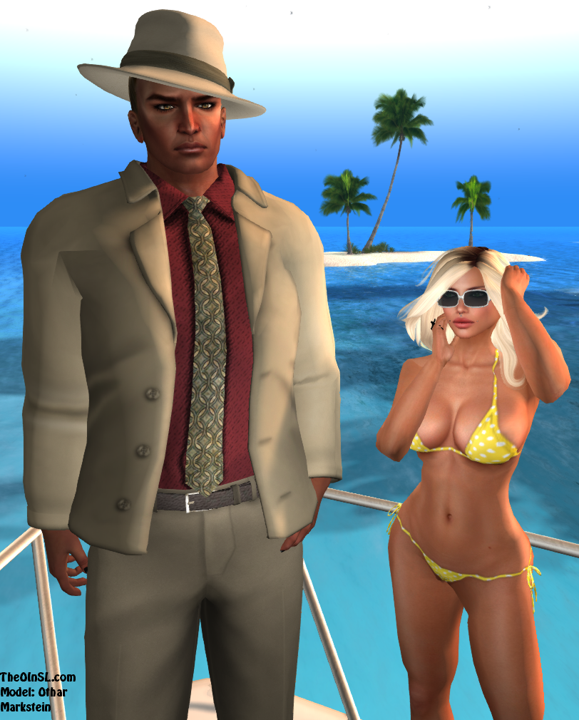 69 Park Ave Summer Suit (all mesh)
